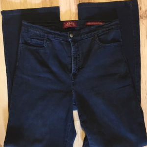 Not Your Daughter's Jeans Dark Wash Boot Cut Sz 8